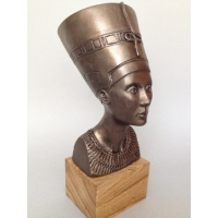 Buste de Néfertiti, sculpture décorative